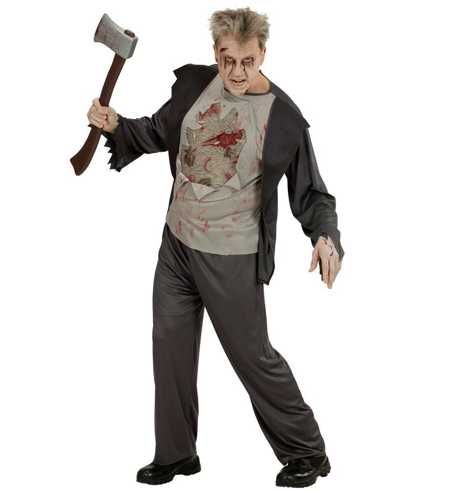 zombie kost m herren horror herren kost m grusel kost m beil blut halloween kk kaufen bei kl. Black Bedroom Furniture Sets. Home Design Ideas