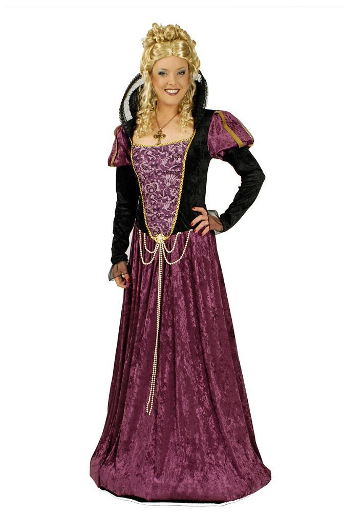 Burgfräulein Kostüm Damen Mittelalterkostüm Mittelalter Kleidung ...