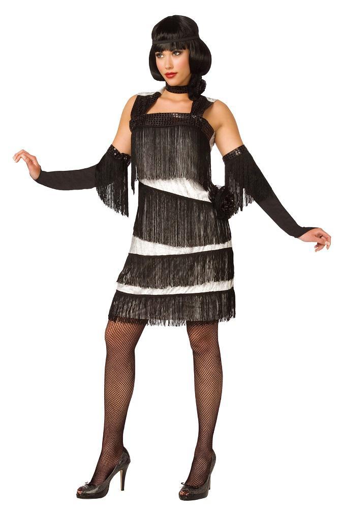 Charleston Kleid Charleston Kostum 20er Jahre Damen Kostum Weiss
