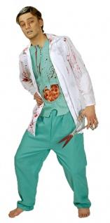 Arzt Kostüm Herren Chirurg Doktor OP Karneval Fasching Halloween KK