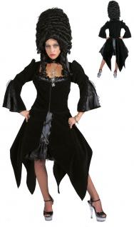 Gothic Kostüm Hexen Kostüm Damen Halloween Damenkostüm KK