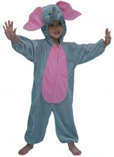 Elefant Kostüm Kinder Plüsch Dombo Elefant-Overall Karneval Kinder-Kostüm KK