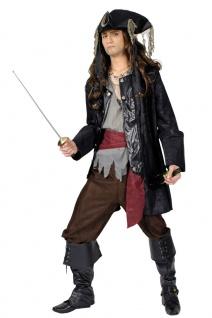 Kostüm Pirat Heren Komplettkostüm Seeräuber Lumpenpirat Fasching Karneval KK