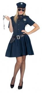 Polizistin Kostüm sexy Polizist Polizei Damenkostüm Cop Karneval Fasching KK