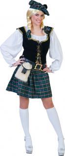 Karneval Klamotten Kostüm Schottin Comora Dame Kostüm Schottland Damenkostüm - Vorschau
