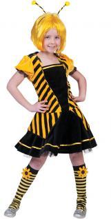 Biene-n Kostüm Kinder Bienchen Kaja Kostüm Biene Kleid Kinder-Kostüm Mädchen KK