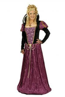 Burgfräulein Kostüm Damen Mittelalterkostüm Mittelalter Kleidung Rokoko Kleid KK