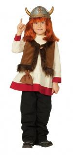 Wikinger Kostüm Mädchen Viking-Kleid Kinderkostüm Karneval Fasching KK - Vorschau