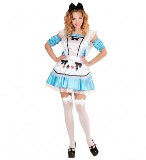 Alice im Wunderland Kostüm Damen sexy Alice Dienstmädchen Märchen Damen-Kostüm K