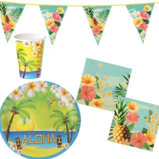 Hawaii deko g nstig sicher kaufen bei yatego for Aufblasbarer pool 3m