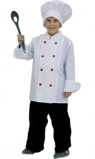 Koch Kostüm Kinder Kochkostüm Chefkoch Jungen Karneval Fasching mit Kochmütze KK
