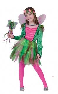 Waldfee Kostüm Kinder Fee Kostüm Elfe-n Kostüm Mädchen Kinderkostüm Karneval KK