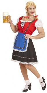 Dirndl Herren Kostüm mit Petticoat und Schürze Oktoberfest Dirndl für Männer KK