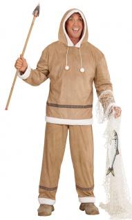 Eskimo Kostüm Herren Inuit Herrenkostüm Nordpol Fasching Karneval KK