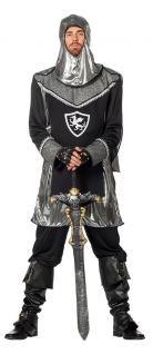 Ritter Kostüm Herren Mittelalterkostüm Kreuzrittermit Kappe Karneval Fasching K