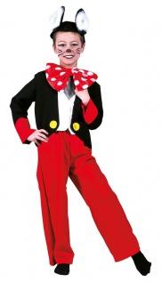 Mickey Mouse Kostüm Kinder Micky Maus Kostüm Karneval Kinder-Kostüm KK