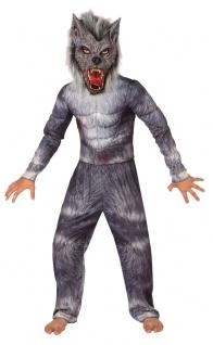 Wolf Kostüm Kinder Werwolf Kostüm mit Maske Wolf KK