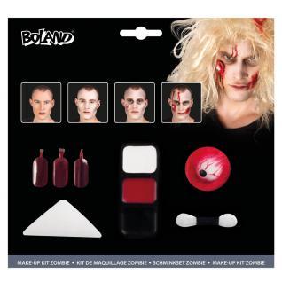 Zombie Schminke Make Up Set Schminke Zombie Halloween Karneval KK