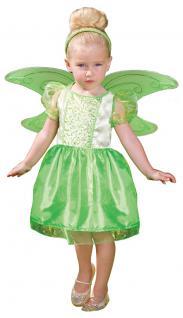 Karneval Klamotten Kostüm Fee Elfe grün Mädchen Karneval Märchen Kinderkostüm