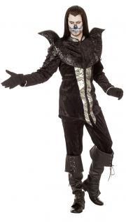 Vampir Graf Dracula Kostüm Herren The Raven Rabe Halloween Gothic Karneval KK