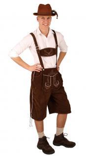 Oktoberfest Lederhose Herren Anton Kostüm Bayern Trachtenhose Herrenkostüm KK