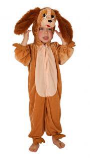 Karneval Klamotten Kostüm Hund Lady Plüsch Junge Mädchen Tier Kinderkostüm