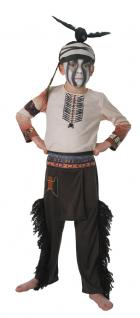 Indianer Kostüm Kinder-Kostüm Junge Kostüm Indianer Tonto KK