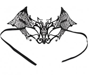 Halloween Gothic Fledermaus Maske Metall KK