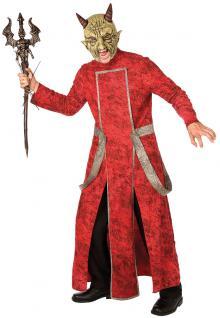 Teufelskostüm Kostüm Teufel Männer Halloween Horror Karneval Kostüm Herren KK