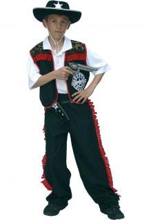Cowboy Kostüm Kleinkinder Jungen Westernkostüm Cowboyweste Hose Karneval KK