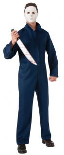 Karneval Klamotten Kostüm Michael Myers Karneval Halloween Herrenkostüm