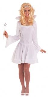 Eiskönigin Kostüm Schneekönigin Damen-Kostüm Eisprinzessin Schneeflocke Kleid KK