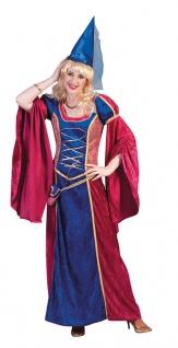 Burgfräulein Kostüm Damen Mittelalter Kleid Burgdame Hofdame Karneval Fasching K