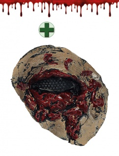 Halloween Wunde Gruselige Latex Zombie Auge Blut INKL. Kunstblut 30 ml. KK
