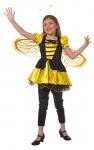 Bienen Kostüm Kinder Biene Bienchen Kleid Mara Mädchen Karneval Fasching KK