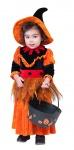 Hexenkostüm Kinder 98 Baby-Kostüm Hexe Klein-Kinder mit Hexenhut KK