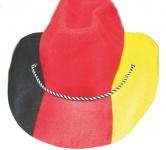 Fan Hut Deutschland aus Filz WM Deutschland Fan-Artikel Fußball schwarz rot gold