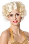20er 30er Jahre Damen-Perücke blond Charleston Perücke Karneval Fasching KK