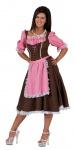 Oktoberfest Dirndl Kostüm Mia Trachtenkleid Damen Dirndl Bayern Damenkostüm KK
