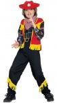 Cowboy Kostüm Kinder Jungen Western Weste Sheriffstern Hose Halstuch Fasching KK