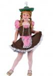 Oktoberfest Kostüm Dirndl Maria Mädchen Trachtenkleid Bayernkleid Tirolerin KK
