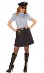 Polizist Kostüm Damen Polizistin Polizei Damenkostüm Fasching Karneval KK