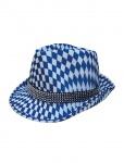 Seppl Hut Trachten Hut Bayern Tiroler Hut Oktoberfest Hut blau weiß KK