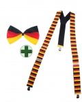 Hosenträger Deutschland Fliege Deutschland Deutsch Fan-Artikel Fußball WM KK