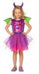 Drachenkostüm Kinder mit Flügel Drache Mädchen Fasching Karneval KK