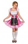 Oktoberfest Dirndl Kostüm pink Trachtenkleid Damen Dirndl Tirol Damenkostüm KK