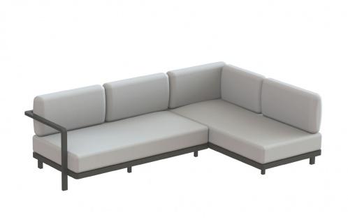 Royal Botania Red Label • Alura Lounge Ecksofa 02 • 250 cm rechts/links