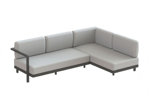 Royal Botania Red Label • Alura Lounge Ecksofa 250 rechts/links