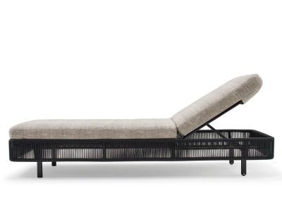 Varaschin Tibidabo Sonnenliege verstellbar, rollbar 201 cm