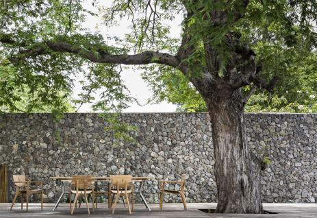 OASIQ REEF Gartentisch 240 x 100 cm • Outdoor Esstisch mit Aluminiumgestell - Vorschau 4